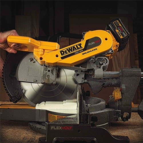 miter saw safety features
